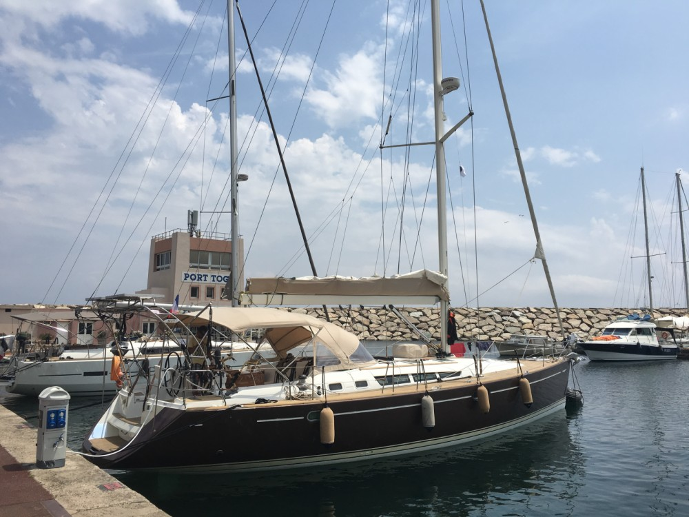 Rental Sailboat in Fréjus - Jeanneau Sun Odyssey 49