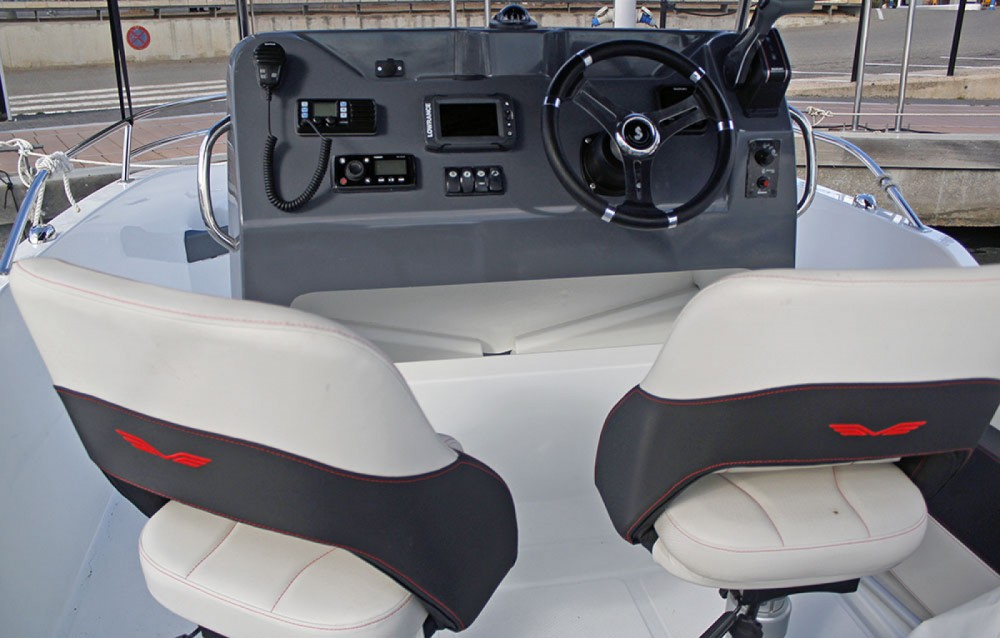 Boat rental l'Estartit cheap Flyer 5.5 SPACEdeck