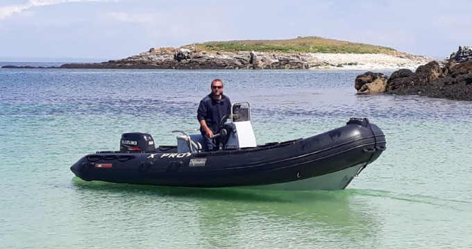 RIB for rent Bénodet at the best price