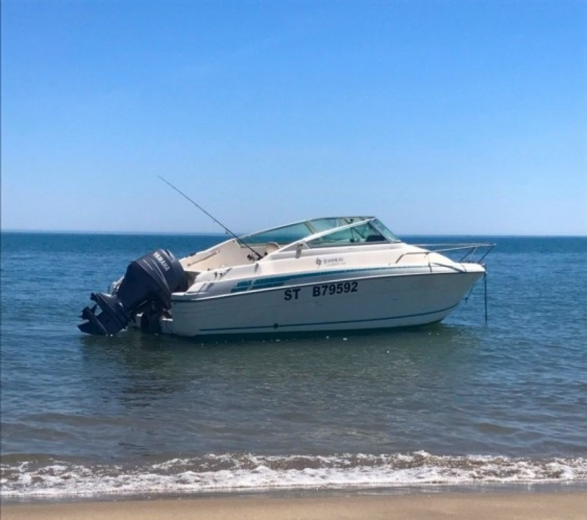 Hire Motor boat with or without skipper Jeanneau Fos-sur-Mer