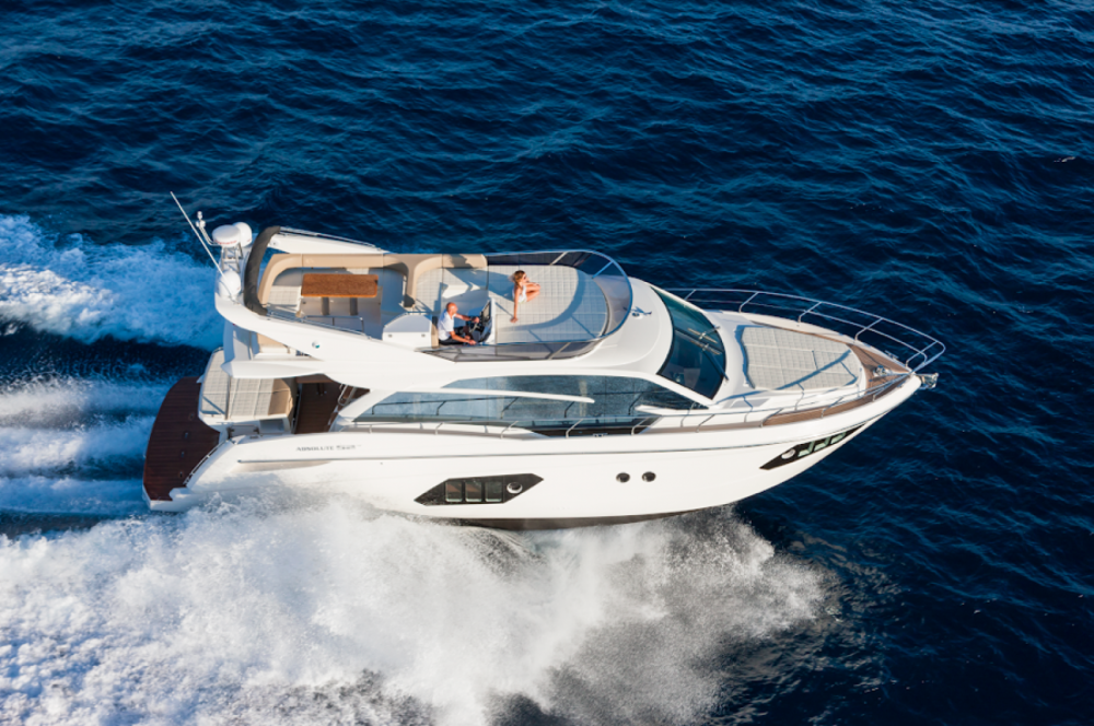 Rental Motor boat in Barcelona - Absolute Yachts Absolute 52 Fly