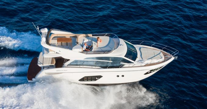 Boat rental Barcelona cheap Absolute 52 Fly