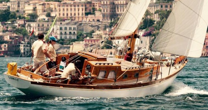 Rent a Sparkman And Stephens Cutter Olbia