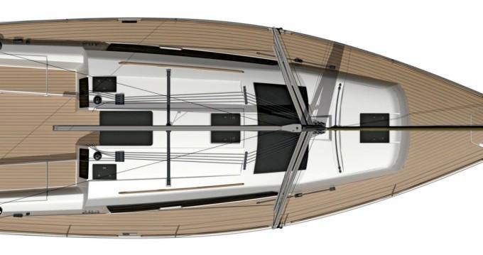 Rental yacht Porquerolles - Dufour Dufour 382 Grand Large on SamBoat