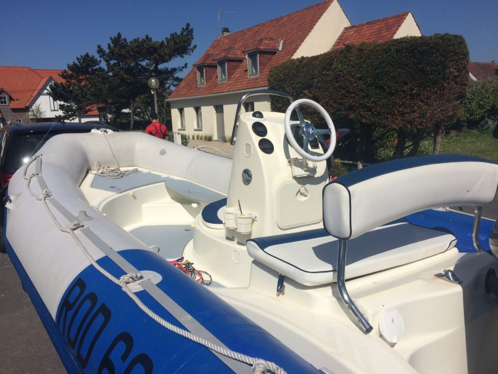 Hire RIB with or without skipper Zodiac Boulogne-sur-Mer