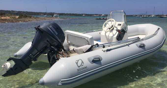 RIB for rent Formentera at the best price