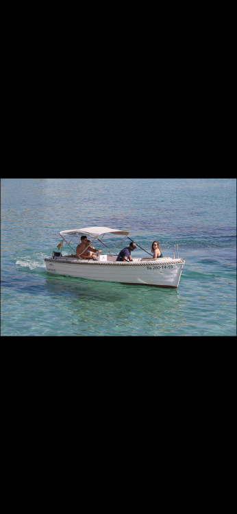 Rental Motor boat Baltic Boats with a permit