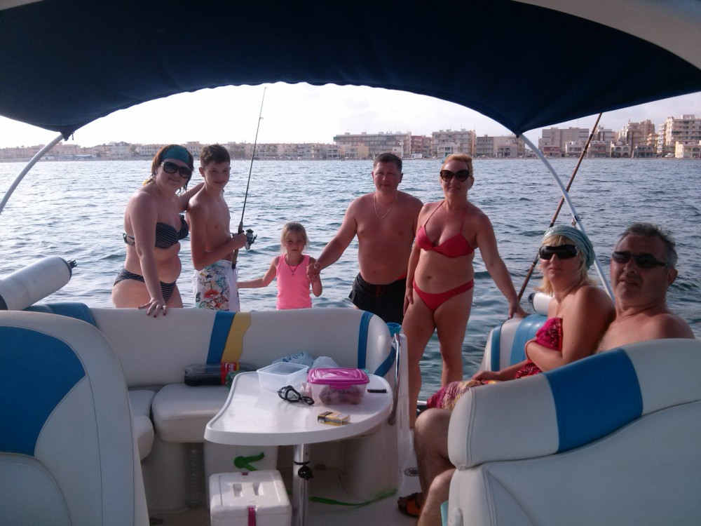 Motor boat for rent Cartagena at the best price
