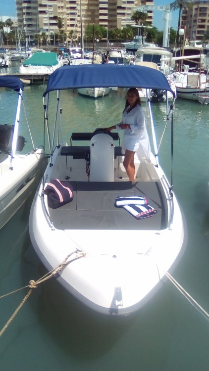Hire Motor boat with or without skipper Mistral Felanitx