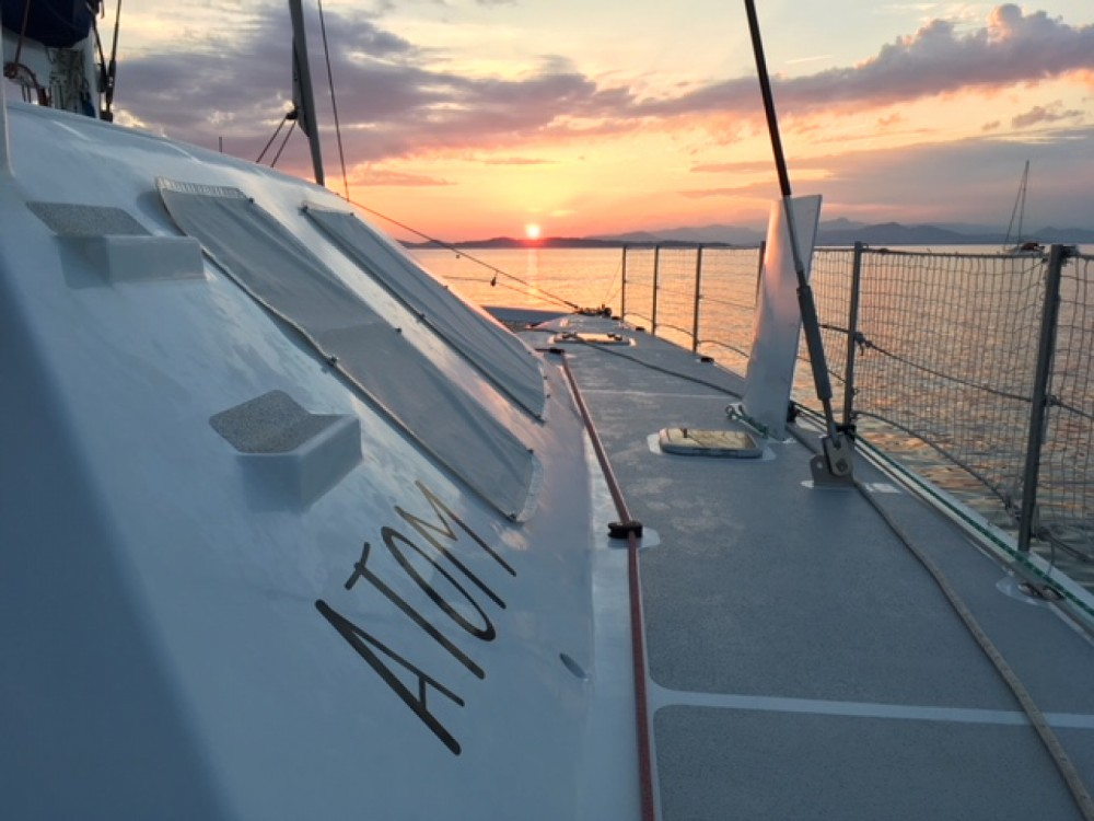 Catamaran for rent Guadeloupe at the best price