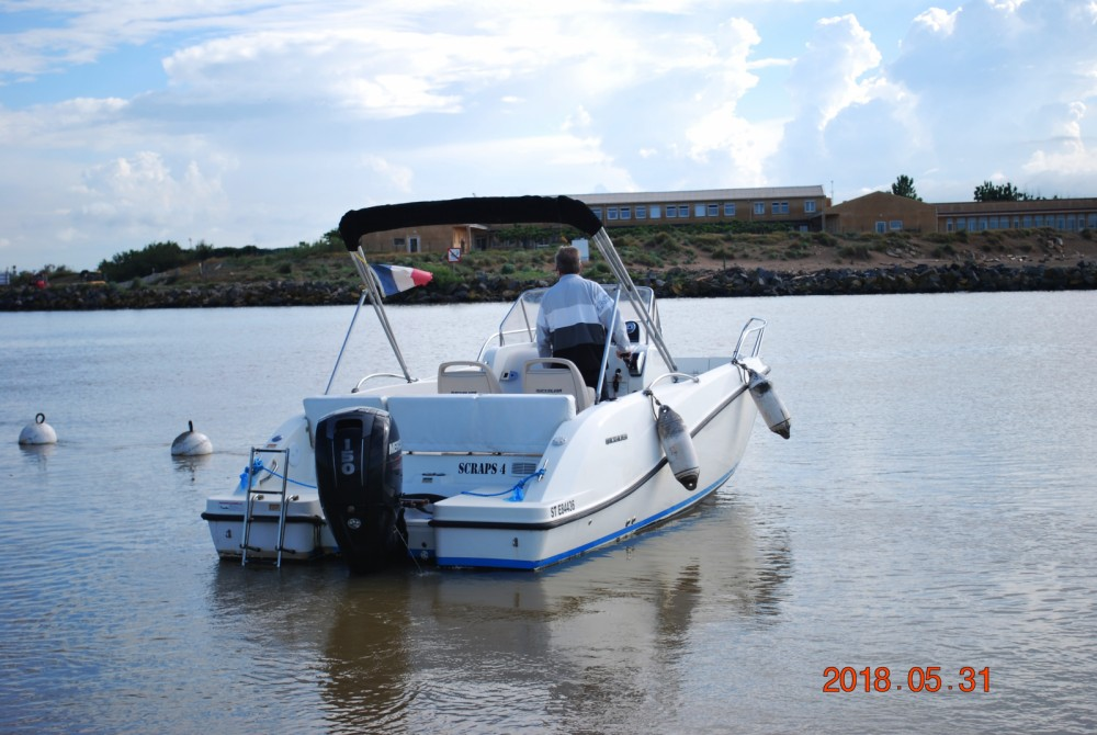 Rent a Quicksilver Activ 675 Open Valras-Plage