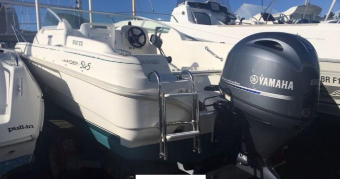 Rental Motorboat in La Trinité-sur-Mer - Jeanneau Leader 545