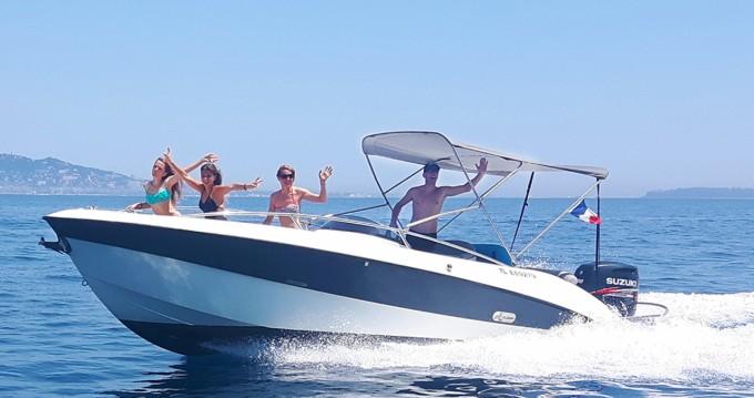 Boat rental Mandelieu-la-Napoule cheap Aquarius Open