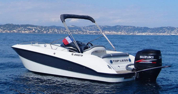 Hire Motorboat with or without skipper Clear Mandelieu-la-Napoule