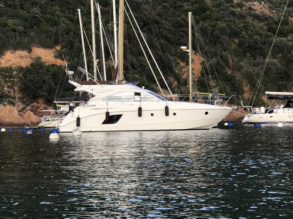 Rental Motor boat in Ajaccio - Bénéteau Monte Carlo 47 Fly