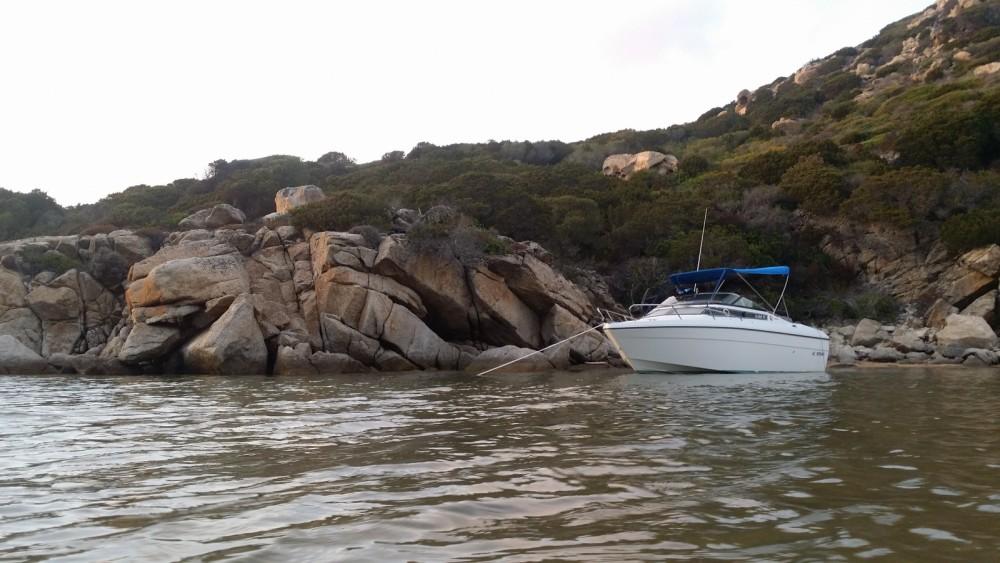Boat rental Propriano cheap Leader 550