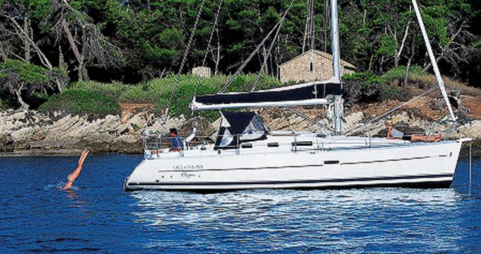 Boat rental Otranto cheap Oceanis