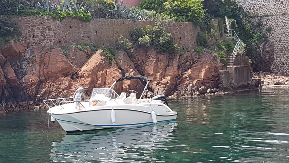 Rent a Quicksilver Activ 675 Open Sainte-Maxime