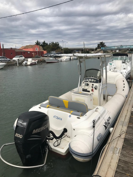 Hire RIB with or without skipper Black Fin Palavas-les-Flots