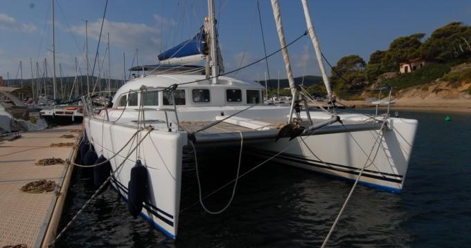 Boat rental Ajaccio cheap Lagoon 380