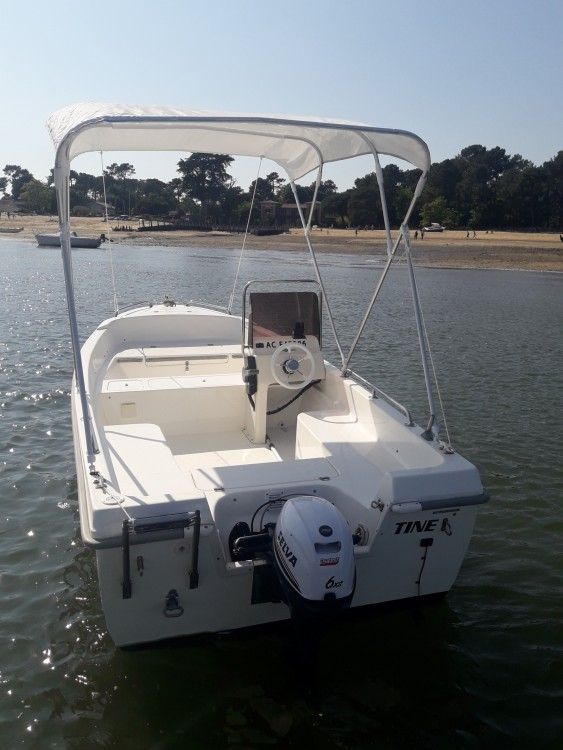 Rental Motor boat Selva with a permit
