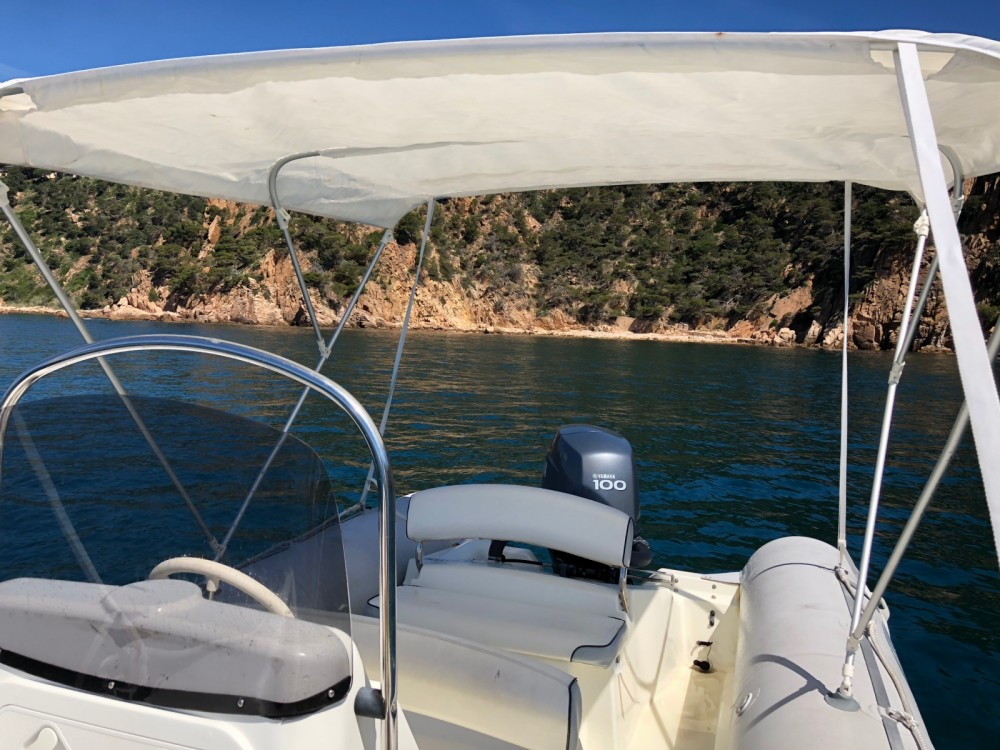 RIB for rent Platja d'Aro at the best price