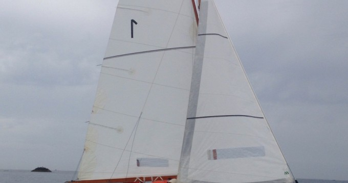 Rental Sailboat Cormoran with a permit