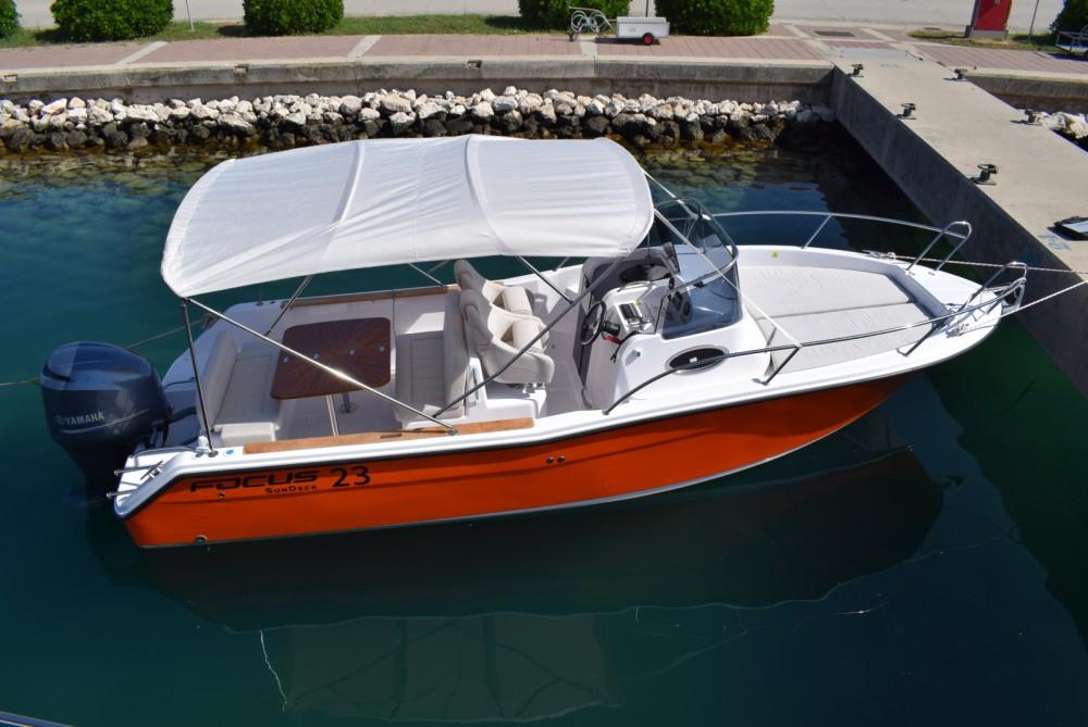 Rental yacht Bibinje - Focus Boats Focus 23 on SamBoat