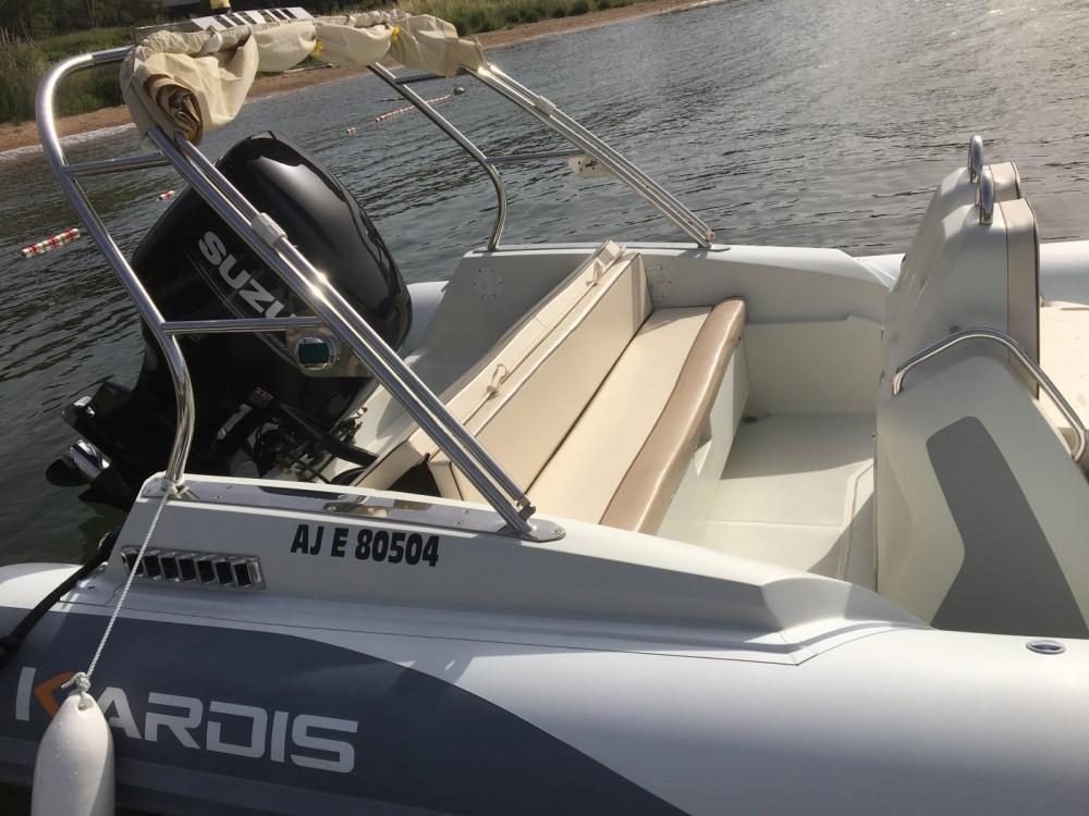 Boat rental Kardis Thunderbird 780 in Porto-Vecchio on Samboat