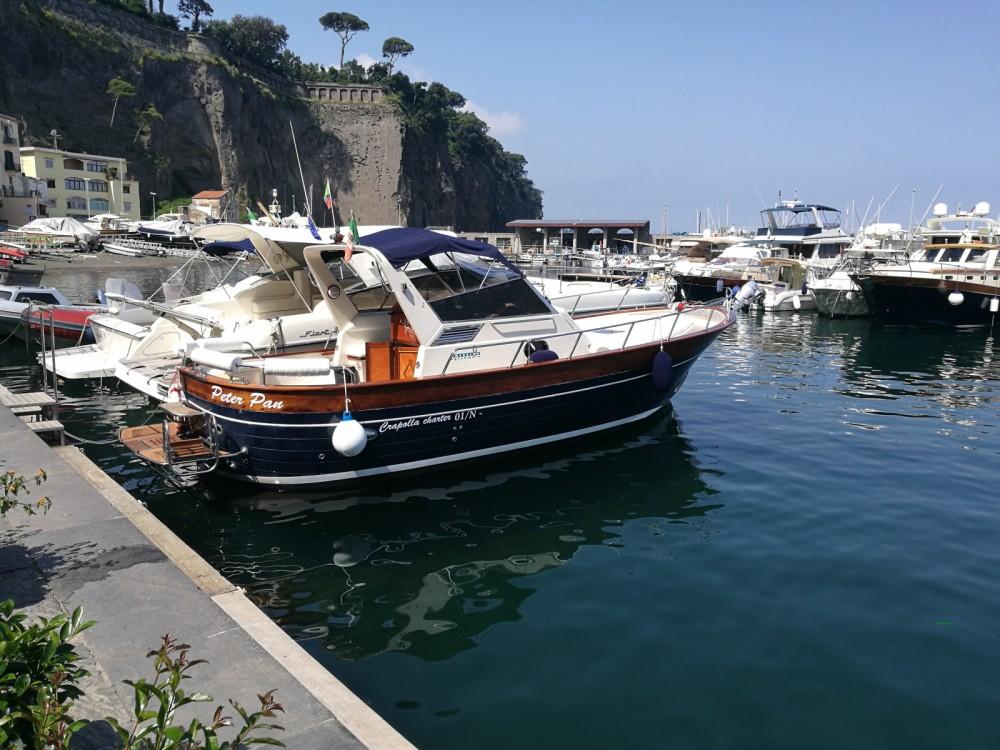 Rental Motor boat in Massa Lubrense - Apreamare Smeraldo 9