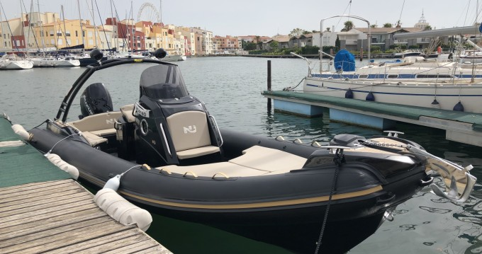 Rental RIB Nuova Jolly with a permit