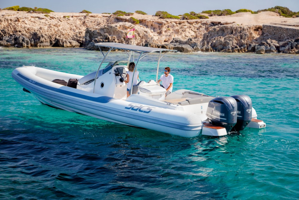 Hire RIB with or without skipper Sacs Marina Botafoch