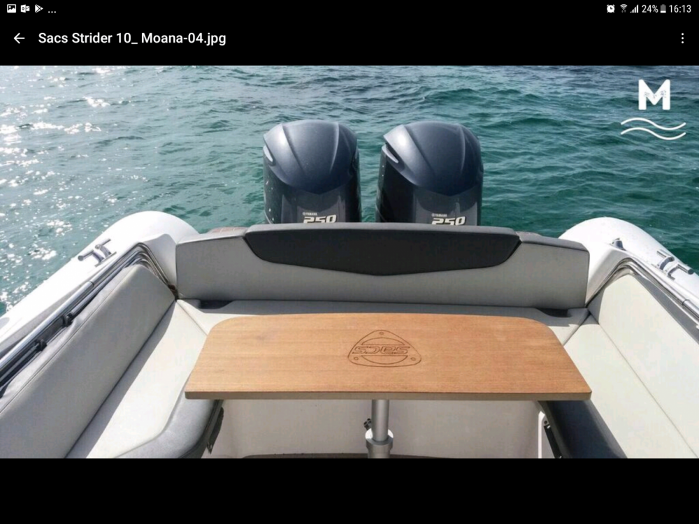 RIB for rent Marina Botafoch at the best price