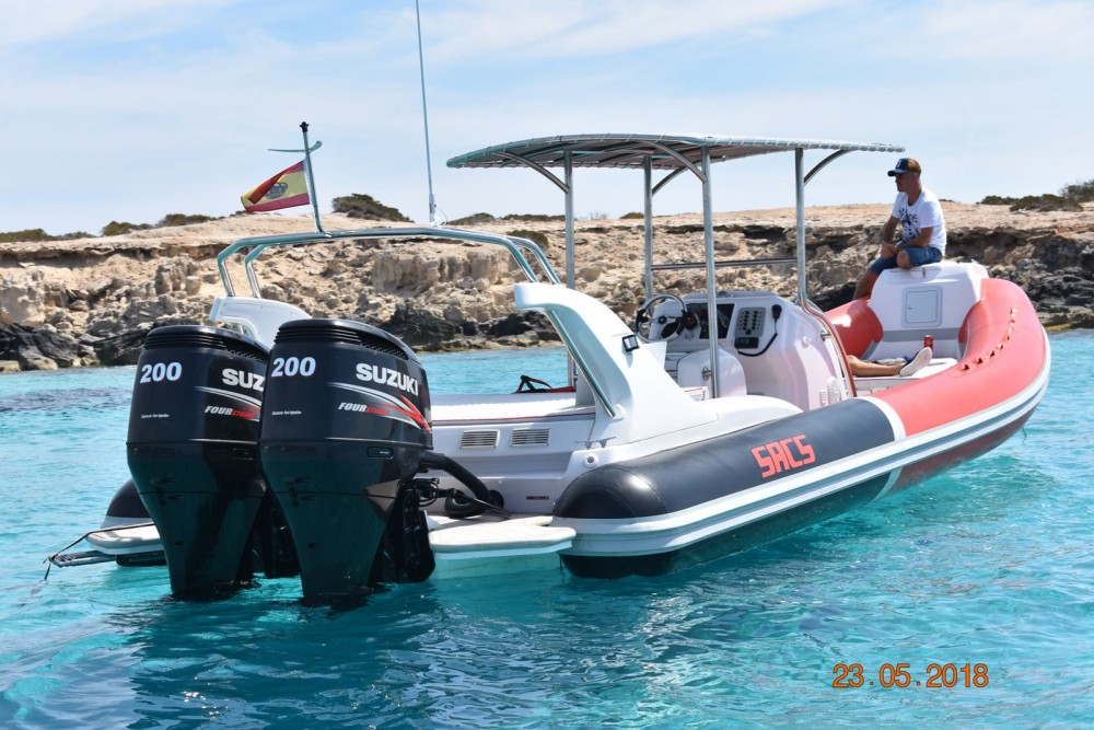 RIB for rent Eivissa at the best price