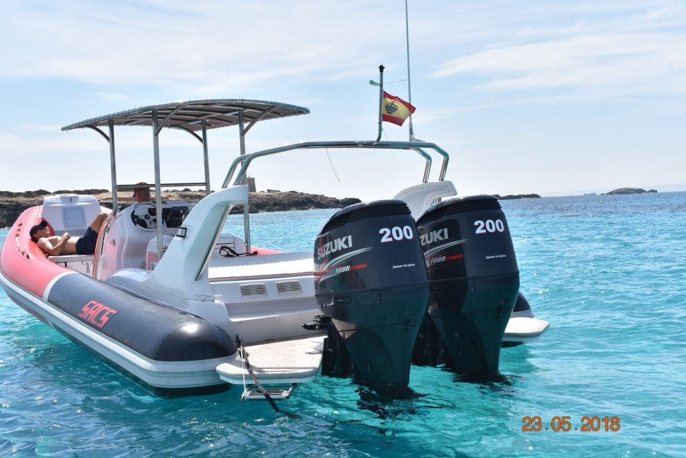 Sacs Samurai 875 between personal and professional Eivissa