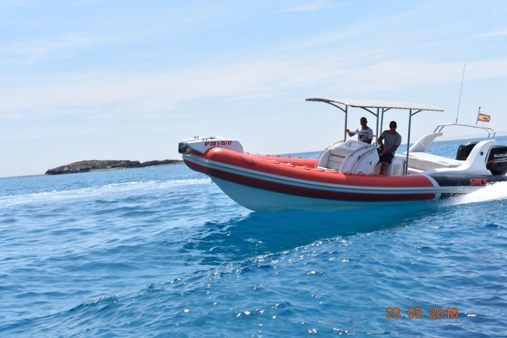 Rental RIB in Ibiza - Sacs Samurai 875