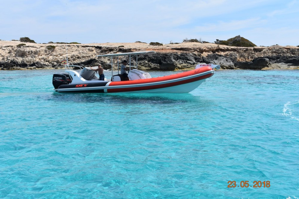 Rental yacht Eivissa - Sacs Samurai 875 on SamBoat