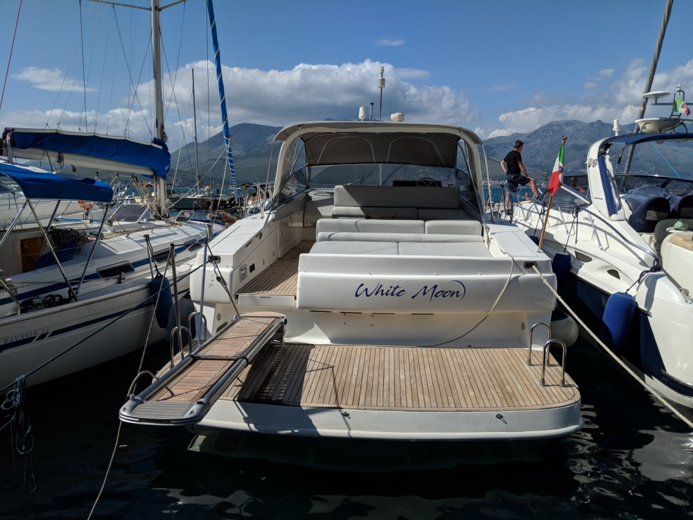 Boat rental Gaeta cheap Theorema 46