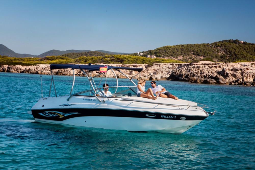 Rental yacht Ibiza - Rinker Captiva 282 on SamBoat