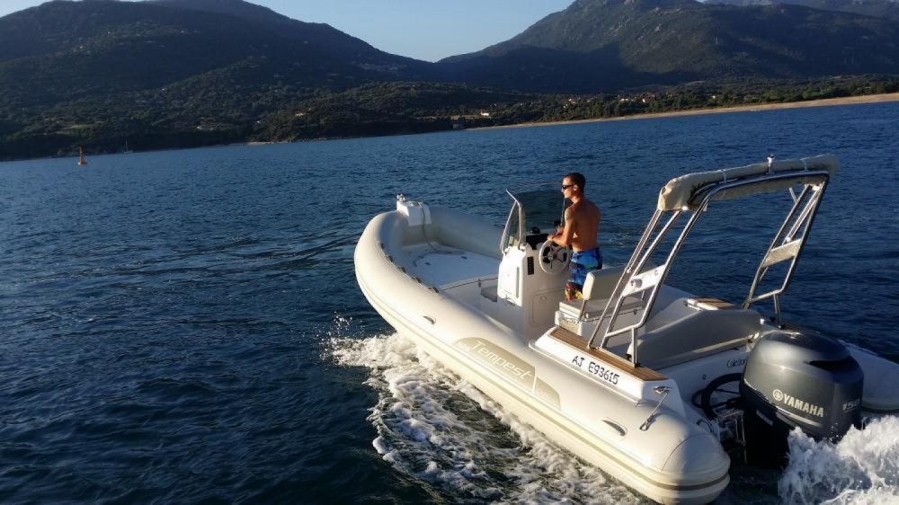Boat rental Capelli Tempest 626 in Propriano on Samboat