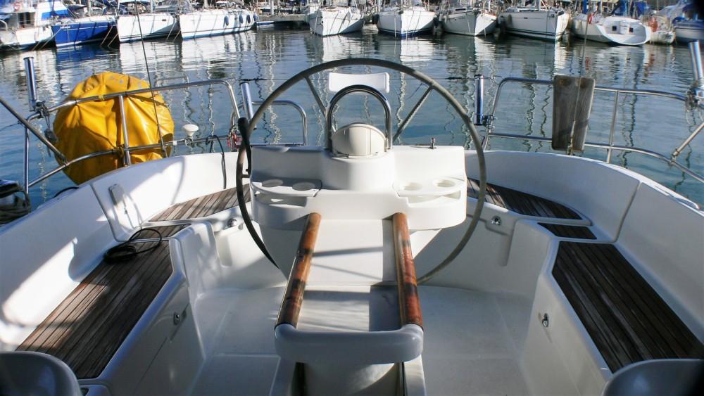 Boat rental Barcelona cheap Oceanis 411