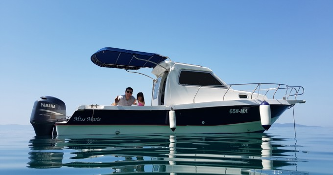 Hire Motorboat with or without skipper Patrol  Makarska