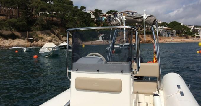 Hire RIB with or without skipper Capelli Tamariu