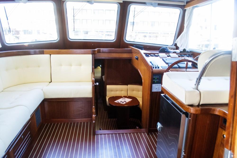 Menorquin-Yachts 160 between personal and professional Marina empuriabrava