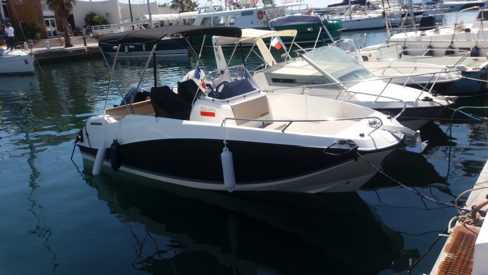 Boat rental Sainte-Maxime cheap Quicksilver 555 Open