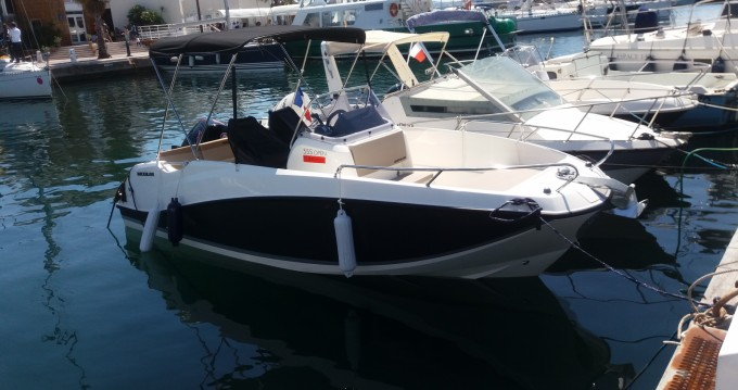 Quicksilver Quicksilver 555 Open between personal and professional Sainte-Maxime