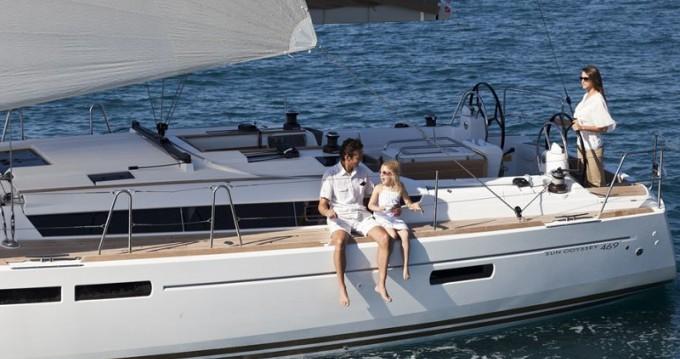 Boat rental Jeanneau Sun Odyssey 479 in Lefkada (Island) on Samboat