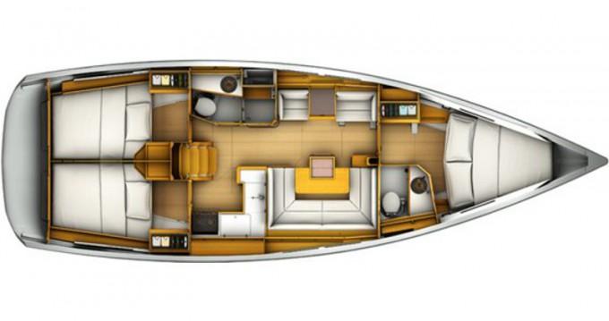 Rental Sailboat in Lávrio - Jeanneau Sun Odyssey 409
