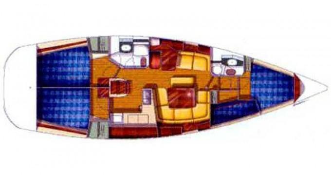 Boat rental Jeanneau Sun Odyssey 43DS in Alimos on Samboat