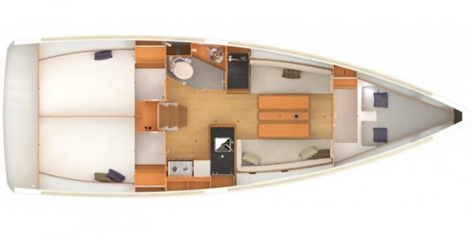 Rental yacht Lefkada (Island) - Jeanneau Sun Odyssey 349 on SamBoat